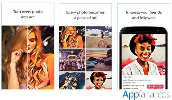 Prisma app para fotografias