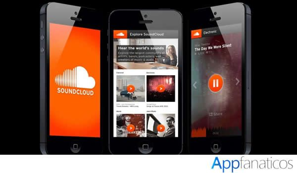 SoundCloud aplicaciones