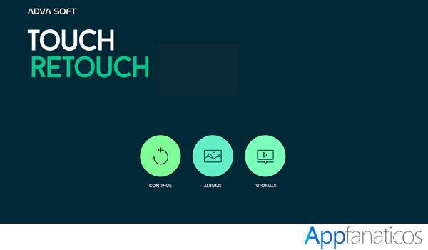 Touch Retouch aplicacion