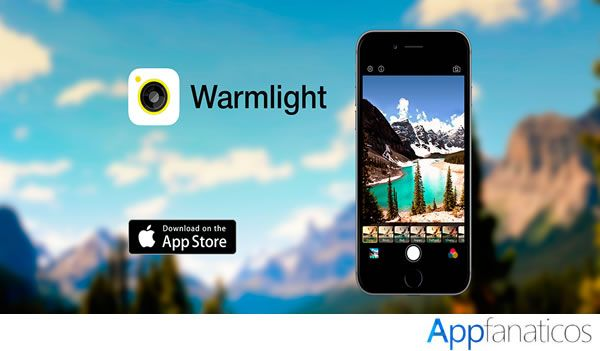 Warmlight app para fotos
