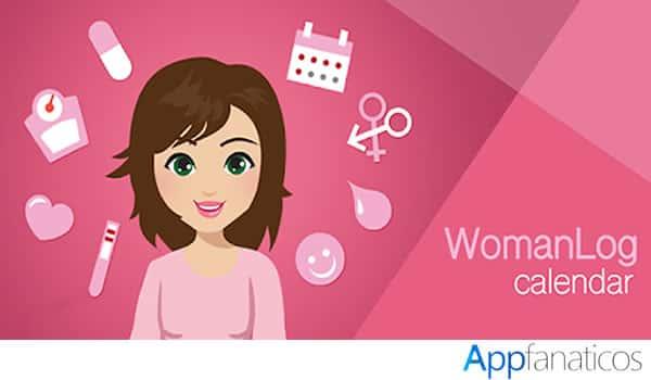 app Calendario Woman Log-