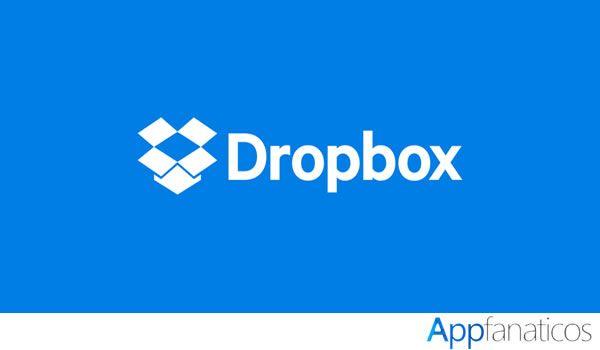 Aplicación Dropbox
