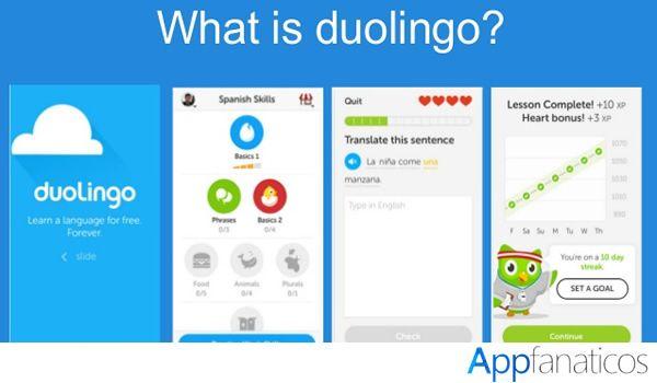 Duolingo app de idiomas