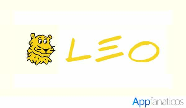 Leo Dictionary app
