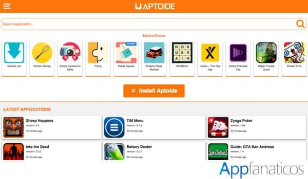 aplicacion Aptoide