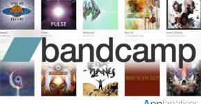 aplicacion Bandcamp