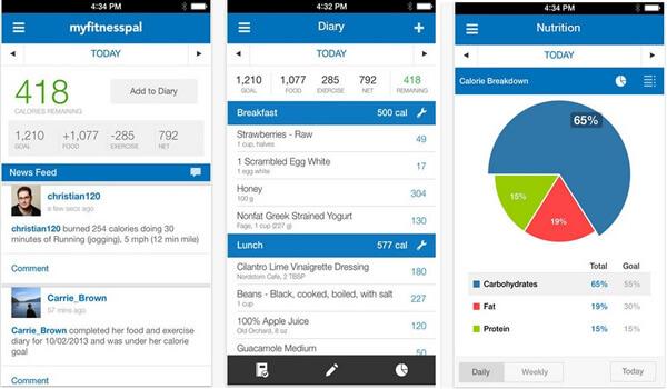 app My FitnessPal