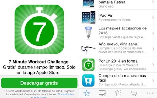 Tabla de 7minutos app
