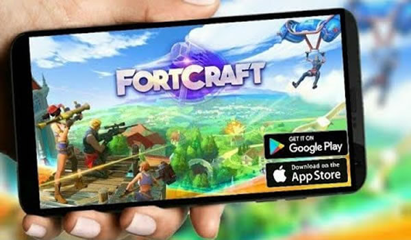 juego apps Fortcraft