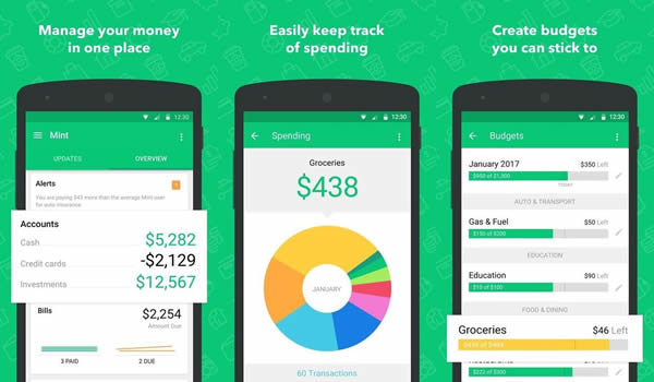 Mint app financiera