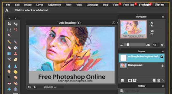 fotos app online photoshop