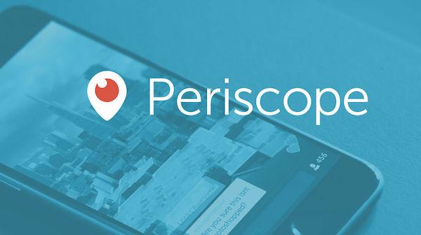 periscope app de estreamings