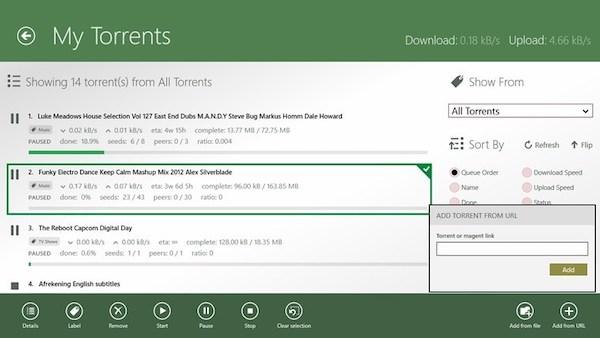 aplicacion Utorrent